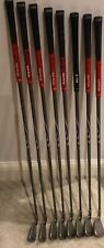 Ping G5 Iron Set; 4-SW (8 clubs) - Black Dot (standard), Regular flex