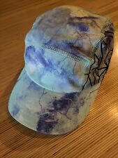 Ivivva Girls Hat XS Lavender Blue Space Marbled Geometric
