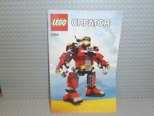 LEGO® Creator Bauanleitung 5764 Rescue Robot ungelocht instruction B1034