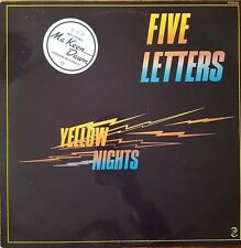 Five Letters - Yellow Nights - Vinyl LP 33T