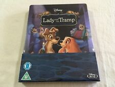 Lady and The Tramp Steelbook - UK Zavvi Only 2000 Printed BLURAY *oop*