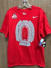 New Nike Men's Ohio State Buckeyes Local Imagery Stadium T-Shirt Sz Large Nwt