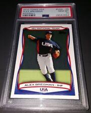 2010 Topps USA Baseball #USA-49- Alex Bregman Rookie Card! PSA GEM MINT 10!