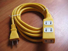 power supply extension cable outlet 110-220V 15A 1 to 3 US plug 3M