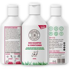 DOG SHAMPOO & CONDITIONER FOR DIRTY SMELLY DOGS ORGANIC NATURAL SENSITIVE 500ML