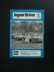 JAGUAR DRIVER JOURNAL JUNE 1978