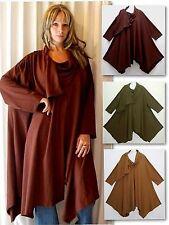 Patternless Cowl Neck Tunic, Kaftan Tops & Shirts for Women