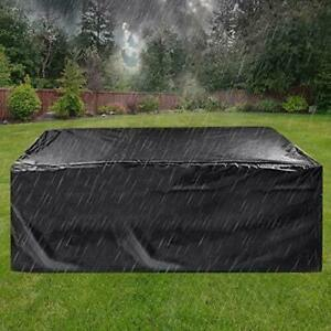Patio Furniture Cover Super Large Outdoor Sectional Furniture Set Cover, Table