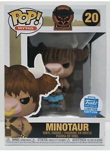 Funko Pop Myths Minotaur Funko Shop Exclusive Limited Edition IN HAND