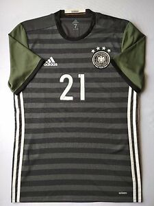 Germany Jersey 2016 Away L Shirt Player Issue Mens Trikot Adidas Adizero ig93