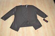 DRESSES UNLIMITED Bolero Weste Jäckchen Gr.40 braun 3/4 arm NEU mit ETIKETT