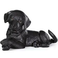Lenox ~  Adorable ~ Black Lab Labrador Retriever ~  PUPPY DOG  Figurine ~ NIB