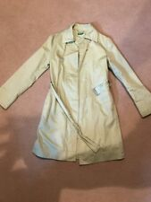 United Colors Of Benetton Pastel Green Trench Coat Size 40
