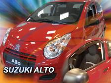 SUZUKI ALTO 5-doors 2010-2015 2-pc wind deflectors HEKO Tinted