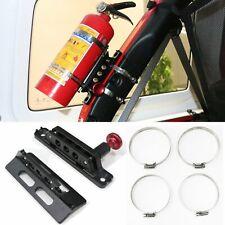 Fire Extinguisher Mount Holder w/ Quick Release Knob For Jeep Wrangler TJ JK JL