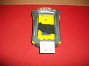 OTTERBOX 1900-05 PDA CASE iPAQ HANDHELDS PROTECTIVE CASE WATERPROOF YELLOW/GRAY