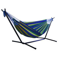 Portable Outdoor Indoor Canvas Hammock Garden Camping Sleep Swing Hanging Bed