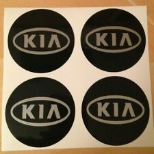 4x 58 mm fits KIA wheel STICKERS center badge centre trim cap hub alloy si