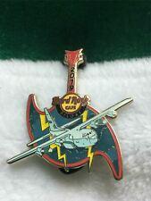 Hard Rock Cafe Pin Biloxi Riders of the Storm Airplane w Hurricane Guitar