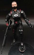 GI Joe Female Cobra Trooper Custom w Black &  Red Uniform