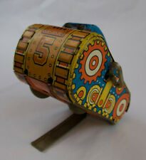 Vintage Marx Turn-Over Tank #5 Tin Toy Wind Up, 1930s -  Works - WATCH IT RUN!