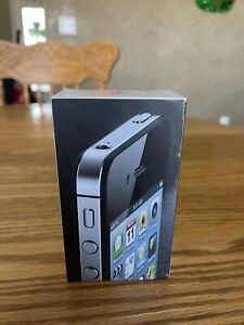 """""""BRAND NEW SEALED"""" Apple iPhone 4-8GB, Black """"RARE COLLECTIBLE"""""""