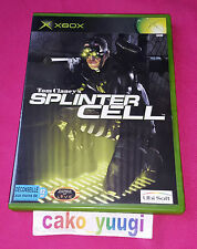 SPLINTER CELL XBOX VERSION 100% FRANCAISE EXCELLENT ETAT