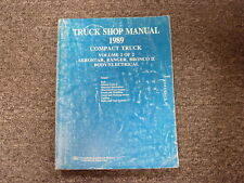 1989 Ford Aerostar Ranger & Bronco II Body Electrical Shop Service Repair Manual
