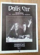 JAPAN: Mick Karn Dalis Car Judgement Is Mirror magazine ADVERT/Poster11x8 inches