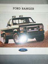 Ford USA Ranger brochure 1988