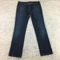 COH Citizens of Humanity Ava #142 Low Waist Straight Leg Jeans Size 29 (183XM)