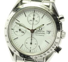 OMEGA Speedmaster 3511.20 Date Chronograph white Dial Automatic Men's_575385
