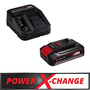 Einhell 18V 2,5 Ah PXC Starter Kit Akku und Ladegerät 4512097 Power X-Change