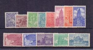 INDIA 1949 DEFS. TO 12a ( 13 ) LMM CAT £43