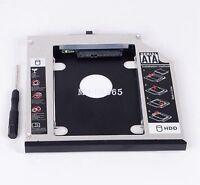 New 12.7mm 2nd SATA HDD Caddy For IBM Lenovo Thinkpad T420 T520 W520 W510 T510