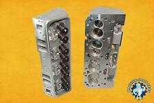 NEW Chevy Aluminum Cylinder Heads PAIR SBC 2.05 Straight Plug 210CC 327 350