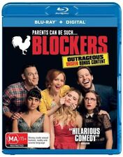 Blockers (Blu-ray, 2018) Australian region, New and Sealed