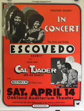 The Pete & Sheila Escovedo Show!! | Art by R. Guzman - Orig. 1979 Poster
