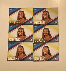2016 Topps Olympic CLARESSA SHIELDS #OD-2 Rookie 6 CT LOT RC GOAT