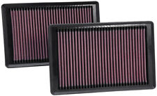K&N AIR FILTERS FOR JAGUAR XK & XKR 4.2 & 5.0 V8 2006-2015