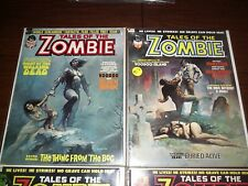 Lot of 10 High Gr. Copies Tales of the Zombie (1970's). CGC Them