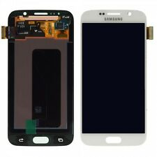 Display LCD Full Set Touch Screen White For Samsung Galaxy S6 G920 G920F NEW