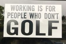Golf Sticker - Golf Sports PGA Tiger Woods Golfing Callaway Ping Nike Roger Dunn