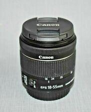 Canon EF-S 18-55mm f/3.5 Lens (White Box)