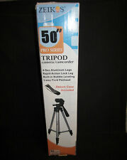 "Zeikos PRO series Camera/ Camcorder Tripod 50"" NIB"