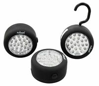 Rolson 24 LED Lamp with Hook and Magnet Set - 3 Pieces
