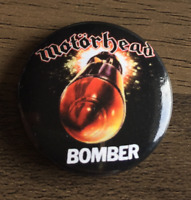 MOTORHEAD Bomber BUTTON BADGE  English Classic Rock / Metal Band  25mm  Pin