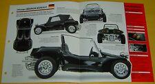 1967 VW Volkswagen Dune Beach Buggy 1776cc 2 Weber Carbs IMP Info/Specs/photo