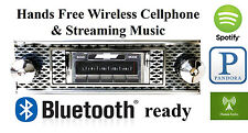 1955 55 Bel Air Nomad  AM FM Bluetooth New Stereo Radio iPod USB Aux  300 watts