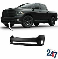 FRONT BUMPER PRIMED 68197698AA COMPATIBLE WITH DODGE RAM 1500 2013-2018